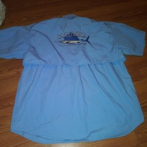 Columbia fishing shirt mens size L